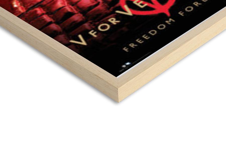 Poster  V FOR VENDETTA - freedom forever