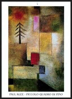 Poster emoldurado  P.Klee - Piccolo Quadro Di Pino