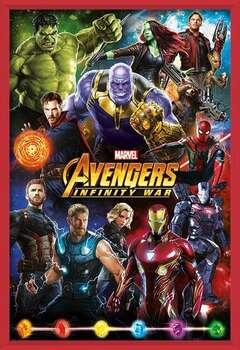 Poster emoldurado  Avengers: Infinity War – Characters