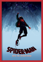 Poster emoldurado  Spider-Man: Into The Spider-Verse – Fall