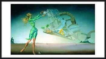Poster emoldurado  Salvador Dalí – Mirage