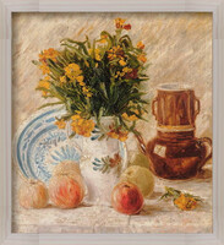 Poster emoldurado  Vincent van Gogh - Still Life