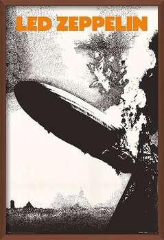 Pôster emoldurado Led Zeppelin - Led Zeppelin I