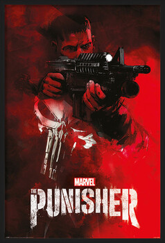 Pôster emoldurado The Punisher - Aim