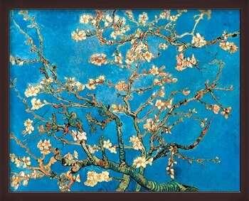 Pôster emoldurado Almond Blossom - The Blossoming Almond Tree, 1890