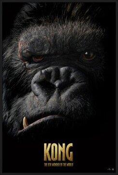 Poster  KING KONG - face
