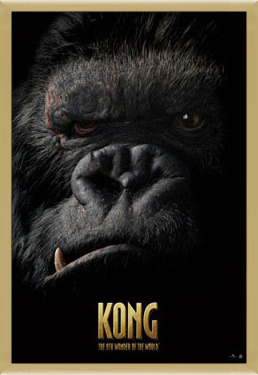 Poster  KING KONG - face