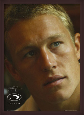 Poster  Jonny Wilkinson - face