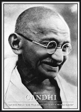 Poster  Gandhi Mahatma