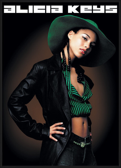 Poster Alicia Keys - pose