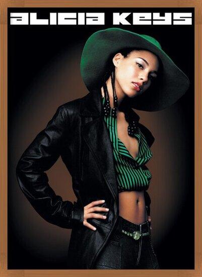 Poster Alicia Keys - pose