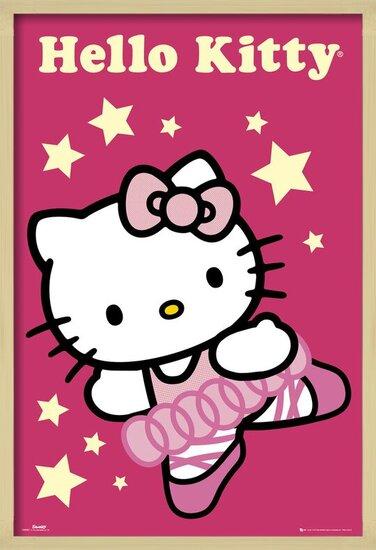 Poster  HELLO KITTY - ballerina