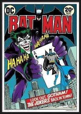 3D poster BATMAN