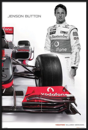Poster  McLaren Double - button