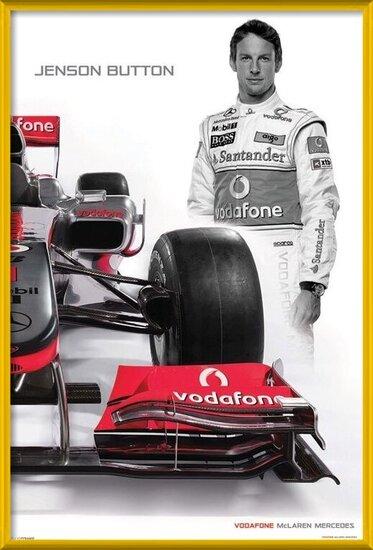 Poster  McLaren Double - button
