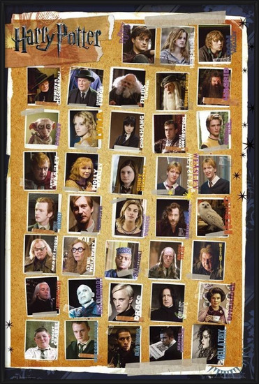 Poster HARRY POTTER 7 - characters