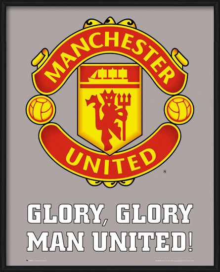 Poster Manchester United - club crest