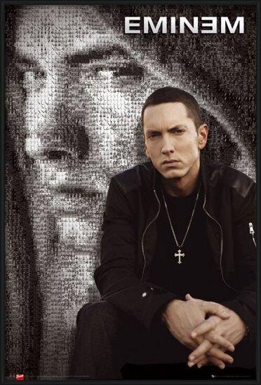Poster  Eminem - mosaic