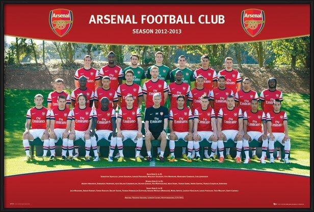 Poster  Arsenal - Team photo 12/13