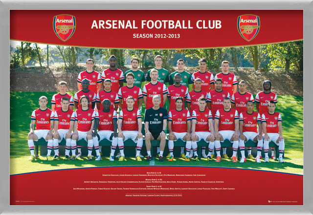 Poster Arsenal - Team photo 12/13