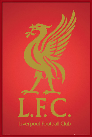 Poster  Liverpool - club crest 2013