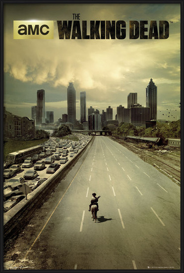 Poster  THE WALKING DEAD - city