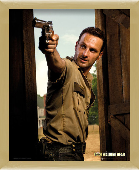 Poster  WALKING DEAD - rick