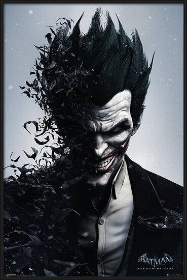 Poster BATMAN ARKHAM ORIGINS - joker