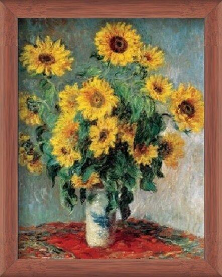 Reprodução do quadro Bouquet of Sunflowers, 1880-81