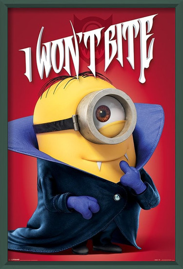 Poster  Minions - I Won't Bite