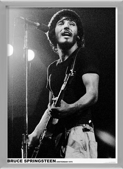 Poster  Bruce Springsteen - Born To Run Tour, Amsterdam 1975