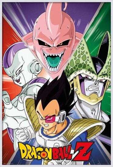 Poster  Dragon Ball Z - Villains
