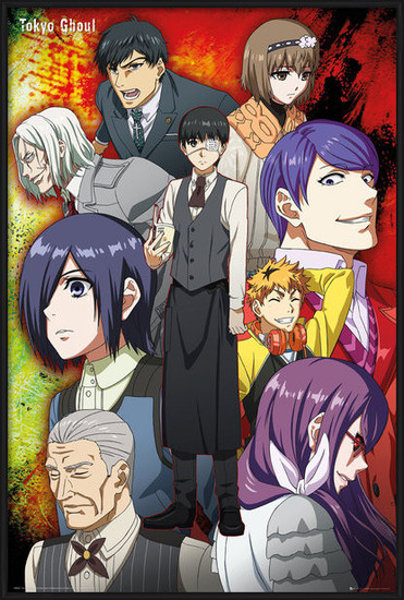 Poster Tokyo Ghoul - Group
