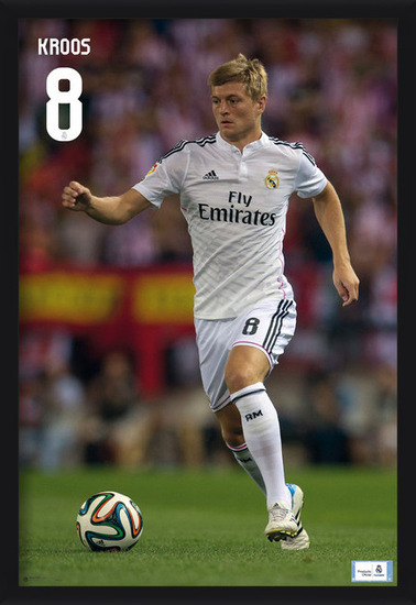 Poster Real Madrid - Toni Kross
