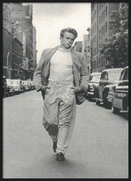 Poster James Dean - Walking