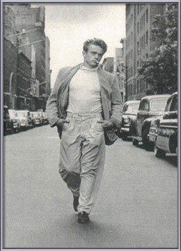 Poster  James Dean - Walking