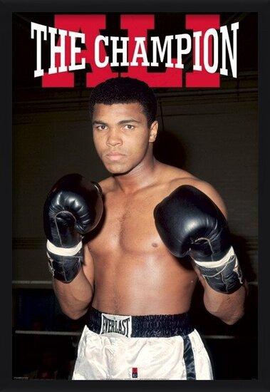 Poster  Muhammad Ali – winner