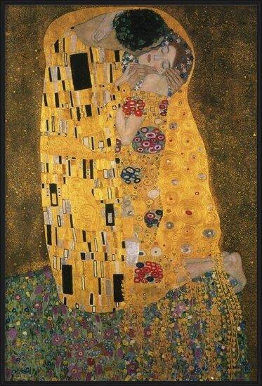 Poster Klimt - the kiss