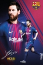 Barcelona - Messi Collage 17-18